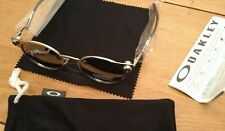 Sunglasses Oakley OO6046 DEADBOLT grey Metal Frame Prizm Black Polarized Lenses