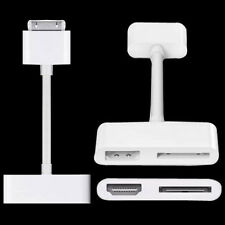 2PCS 1080P Digital HDMI HDTV Adapter cable For iPod Touch iPhone 4 4G iPad2 New