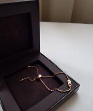 New Monica Vinader Bracelet Baja Deco Bracelet Rose Gold Vermeil Sterling Silver