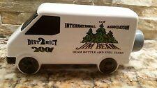Jim Beam - White Truck - International of Association - District Van Decanter