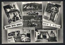 Cartolina - ORTA S. GIULIO ( Novara ) Taverna Antico Agnello - Viaggiata 1961