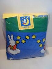 Vintage Dick Bruna Mothercare Miffy Bunny Print Baby Cot Bed Fabric Bumper