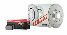 Disc Brake Pad and Rotor Kit-Mach I Front Hawk Perf fits 2001 Ford Mustang