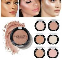 Blush Cheek Face Texture Baked Blush Face Base 6 Colors Mineral Blusher   US