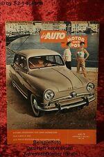 Das Auto 1954 AMS Auto Motor Sport 9/54 Lloyd LT 500 Nash Metropolitan Fi