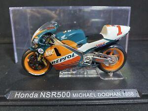 MICHAEL MICK DOOHAN REPSOL HONDA NSR500 1998 1:24 IXO Motorbike - Rare