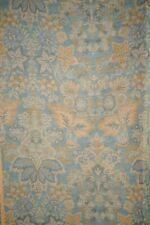 Kashmiri Hand Embroidered Apollo Design Shawl Scarf Silk Wool Blend 28 x 88