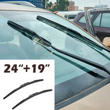 "24""+19"" 2pcs/Set Front Windshield Wiper Blades fit for Dodge Cadillac Infiniti"