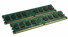 2GB Kit 2X 1GB DDR2 PC2-4200 533Mhz Dell Optiplex GX320 GX520 GX620 Memory RAM