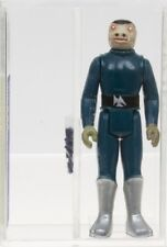 Star Wars 1978 Vintage Kenner Blue Snaggletooth (HK) Loose Action Figure UKG 80%