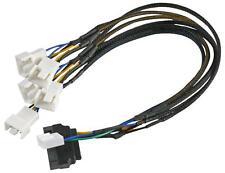 LEAD PWM FAN SPLITTER (X5) - SATA - Computer Cables - Cable Assemblies