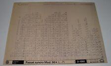 Ersatzteilkatalog auf Microfich VW Passat B3 35i syncro Allrad ab Modelljahr 90