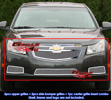 Fits Chevy Cruze LT/LTZ RS Package Stainless Mesh Grill Insert Combo 2011-2014