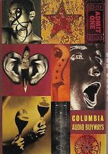 Various Columbia Audio Buyways 904-1001 '94 CASSETTE PROMO Soul Pop Electronic