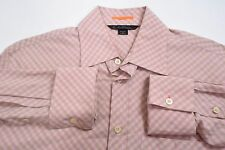 Men's Medium Paul Smith London Button Down Pink/Blue Striped Shirt
