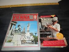 Lot of 2, Travel to Vienna Guide Books, Frommers & Vienna Souvenier