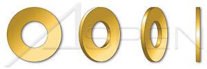 200 pcs M1.6 DIN 125-A Flat Washers Brass
