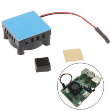 Fan Square Cooling Fan with Heatsink Cooler Kit For Raspberry Pi 4 /3/2