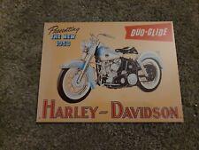 HARLEY DAVIDSON metal Retro Plaque