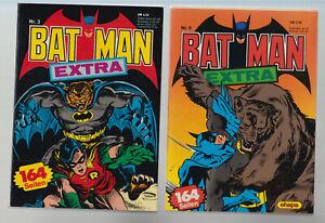 Batman Extra Taschenbuch Ehapa 1-11 fast komplett (Nr. 9 fehlt) (0-1/1) - (1)