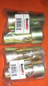 2 PAIR! Cat 1 Quick Hitch Adapter Bushings Category I 3-pt Tractor, Bushing Set