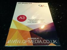 A3 PHOTO QUALITY HIGH GLOSS INKJET / LASER SELF ADHESIVE PAPER 150gm (R))