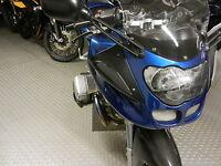 Schwarze LED Front Blinker mit Standlicht BMW R 1100 S smoked signals indicators