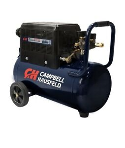 Campbell Hausfeld 8 Gallon Portable Quiet Air Compressor AC080510 Open Box, Used