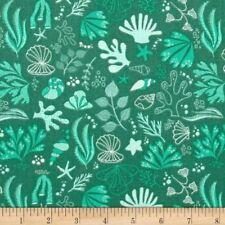 Under the Sea  Cotton Fabric Seashells Camelot Fabrics Nautical BTY BFab