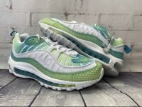 Nike Air Max 98 SE Bubble Pack Green White Shoes CI7379-300 Women's Size 9.5 NEW