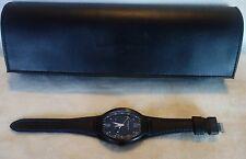 Montres De Luxe Mens GMT Estremo Black blue Watch  NEW