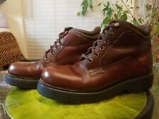 Timberland Boots mens size 11.5 MDark brown leather EUC