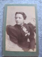Victorian Cabinet card - Young Lady portrait