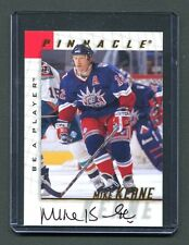1998 Pinnacle Be A Player #101 Mike Keane Rangers Autographed jh10