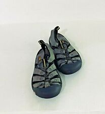 LEATHER KEEN SIZE 6.5 EU 37 SPORTS SHOES GRAY- WATER, HIKING SANDALS WATERPROOF