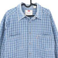 Levi's Vintage Bleu Jean Chemise Taille L