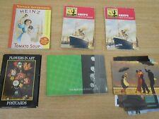 Job lot 60+ unused postcards - Beatles, Ships, floral, Advertising, Vetriano