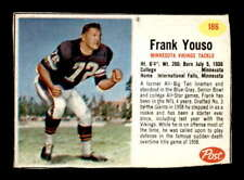 1962 Post #186 Frank Youso SP VGEX X1436422