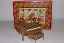 1930's Tootsietoy Baby Grand Piano with Box, Original