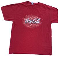 Coca Cola Logo Tee Shirt Bubbles And Fizz Vintage 1990s Mens Large