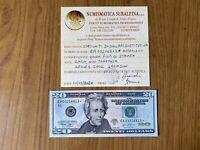 BANCONOTA STATI UNITI USA 20 DOLLARI 2004 A JACKSON RARA SOSTITUTIVA qFDS