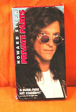 HOWARD STERN in PRIVATE PARTS VHS MOVIE cassette tape