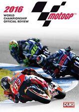 MotoGP 2016 DVD. MARC MARQUEZ WORLD CHAMPION. NTSC. 200 Mins. DUKE Video 1968NV