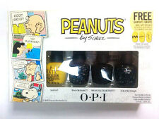 OPI Little Peanuts Mini Nail Lacquers 4 Different Pieces