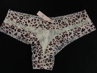 NWT Victoria's Secret THE LACIE Floral Lace Cheeky Panty Medium