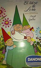 Álbumes Danone: : libro de Lisa y David el Gnomo COMPLETOS