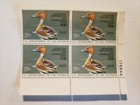 US Department of Interior Fulvous Whistling Duck Stamp Block Migratory Bird Hunt