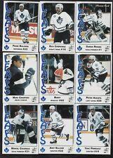 1993/94 AHL St.John's Maple Leafs Team Issued Set Bialowas/Crawford/Sullivan