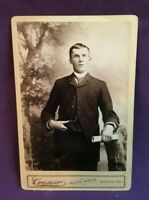 *Antique Cabinet Photograph Picture J. CRAMER PHOTOGRAPHER GRAFTON WISCONSIN