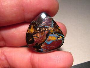 38 ct    Boulder Opal Yowah Nut  # 1435  no color